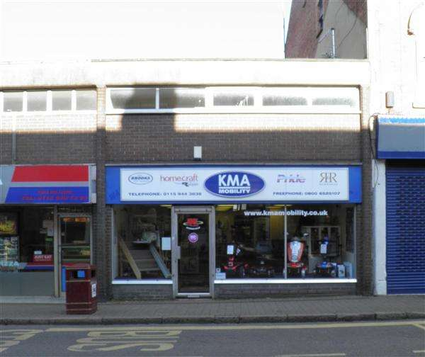 Commercial Property for sale in Ground Floor Retail Unit And First Floor Storage, 148 Bath Street, Ilkeston