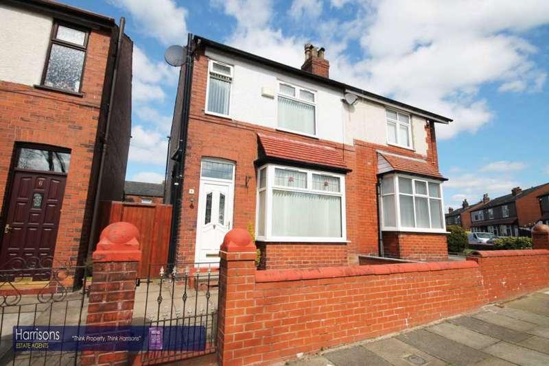 2 Bedrooms Semi Detached House for sale in Paris Street, Deane, Bolton, Lancashire.
