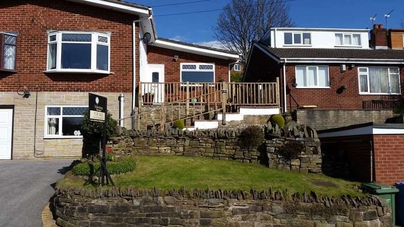 3 Bedrooms Semi Detached House for sale in Vale Road, Shaw