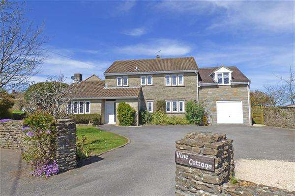 5 Bedrooms Detached House for sale in Vine Cottage, North Cheriton, Wincanton