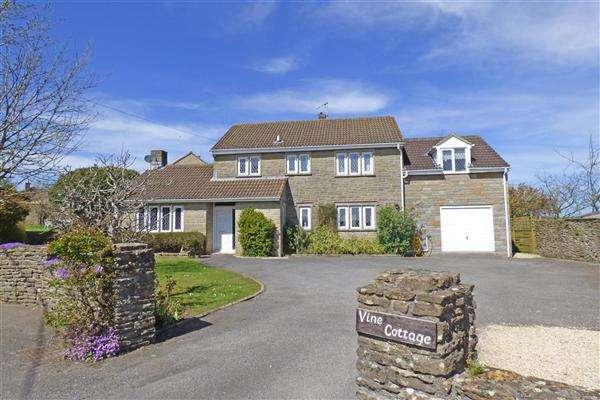 5 Bedrooms Detached House for sale in Vine Cottage, North Cheriton, Wincanton