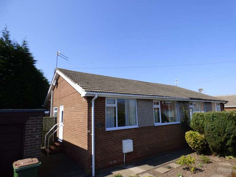 2 Bedrooms Semi Detached Bungalow for sale in Greta Road, Skelton