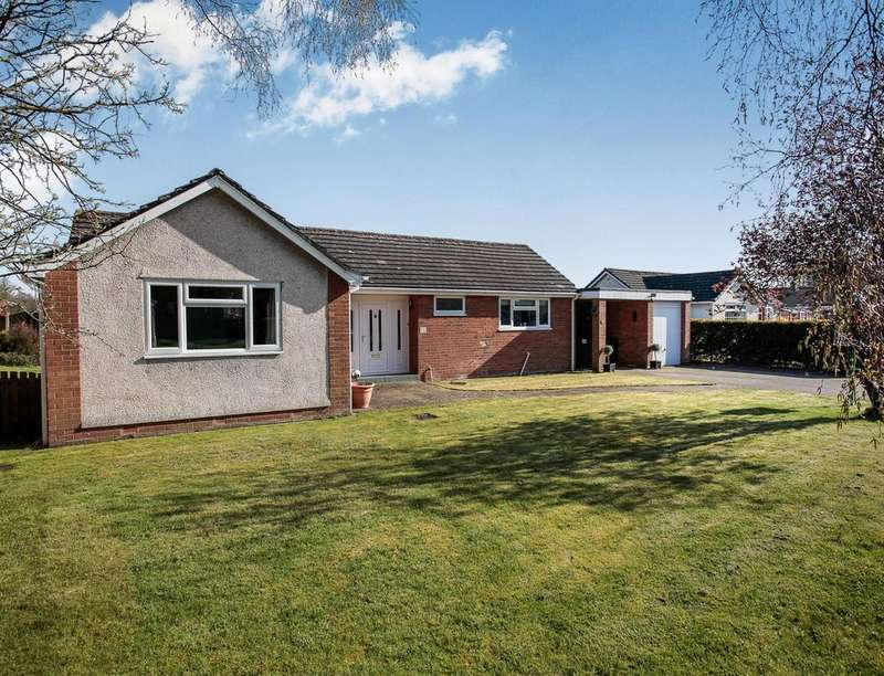 3 Bedrooms Detached Bungalow for sale in Rosegate, Aglionby, Carlisle, CA4