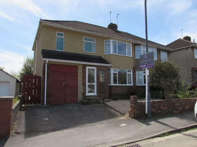 4 Bedrooms Semi Detached House for sale in Dunster Road, Keynsham