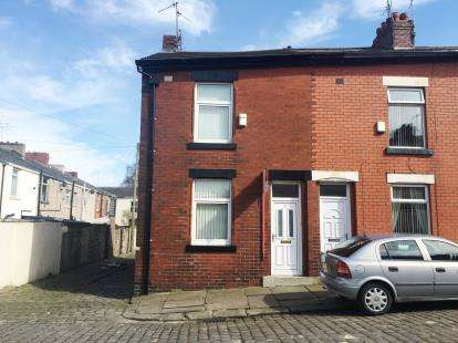 2 Bedrooms End Of Terrace House for sale in Herschell Street, Blackburn, Lancashire, BB2