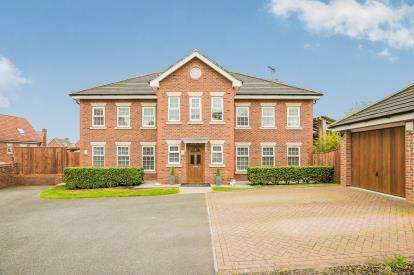 6 Bedrooms Detached House for sale in St. Augustines Drive, Wychwood Village, Weston, Cheshire