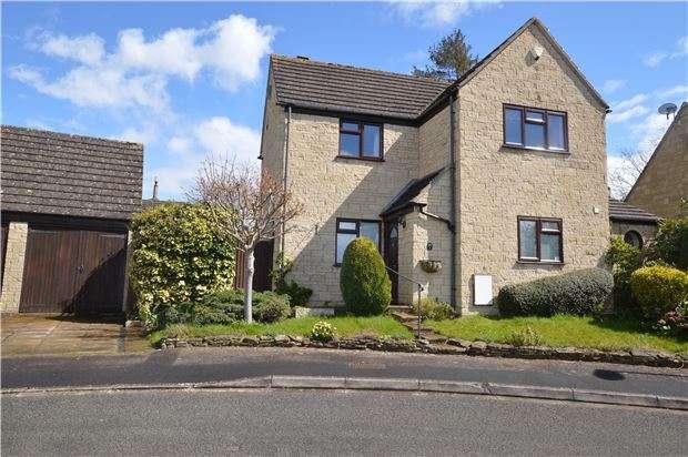 3 Bedrooms Detached House for sale in East Gable, Woodmancote, Cheltenham, Glos, GL52 9UB