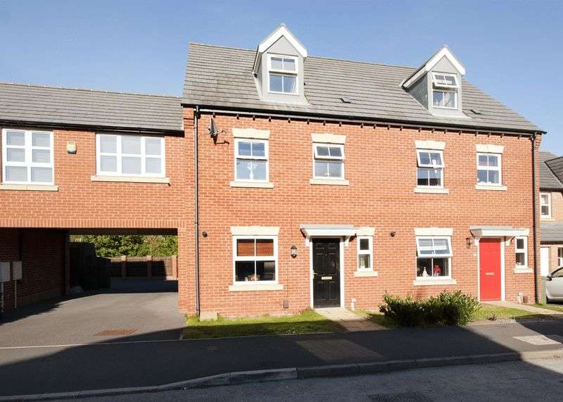 4 Bedrooms Semi Detached House for sale in Thoresby Road, Mansfield