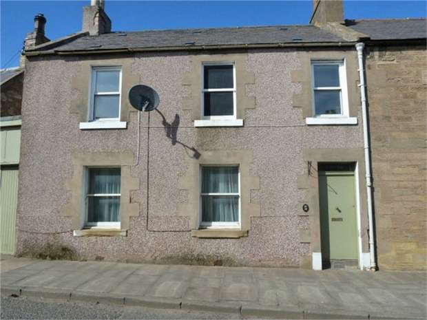 3 Bedrooms Semi Detached House for sale in East High Street, Greenlaw, Duns, Scottish Borders
