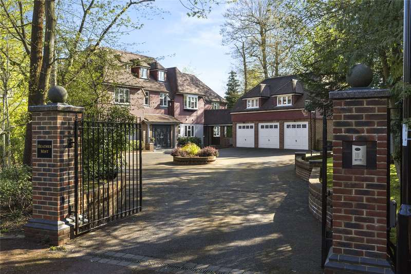 6 Bedrooms Detached House for sale in Silverdale Avenue, Walton-On-Thames, Surrey, KT12