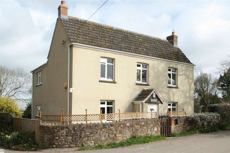 3 Bedrooms Detached House for sale in Fiddington, Somerset