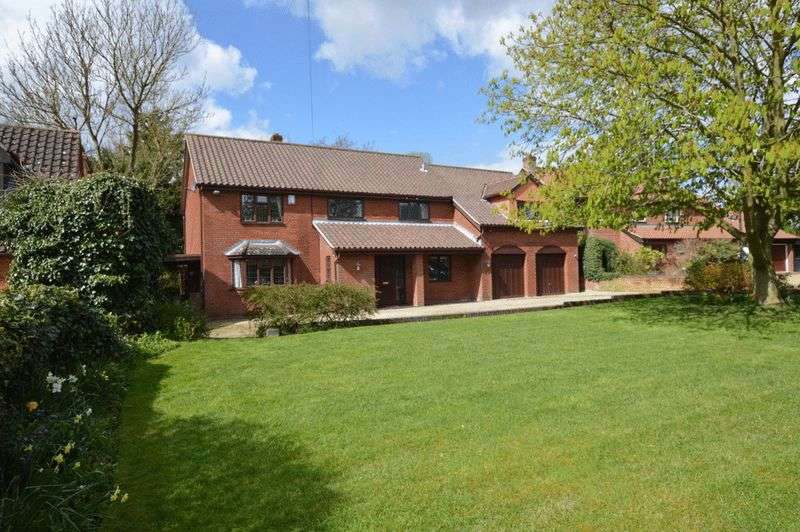 5 Bedrooms Detached House for sale in Harts Lane, Bawburgh, Norwich