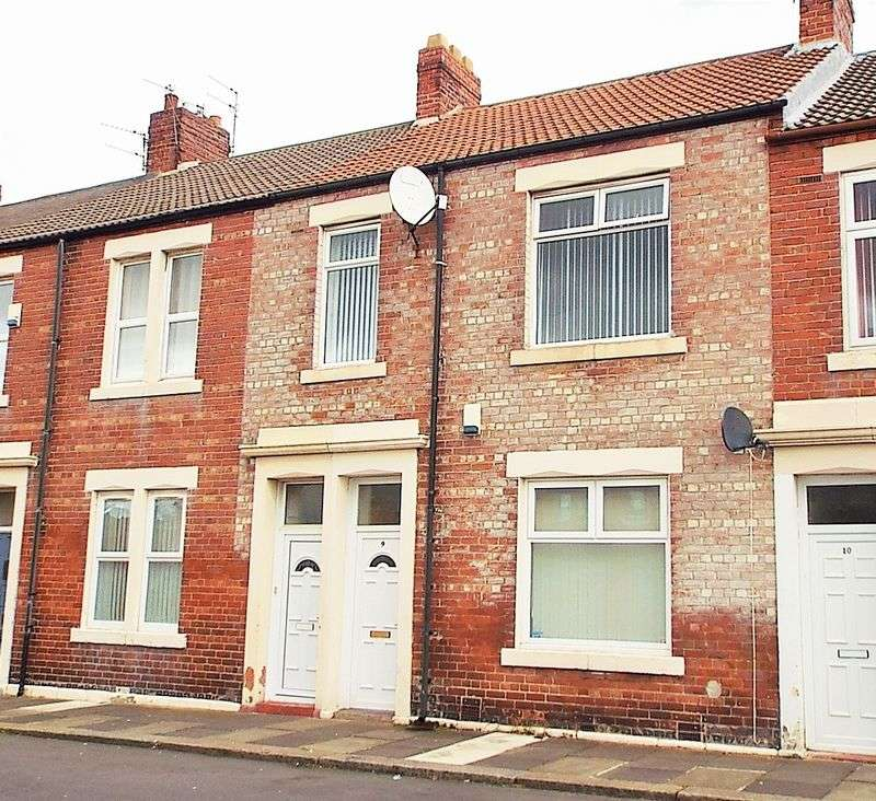 3 Bedrooms Flat for sale in Waldo Street, North Shields