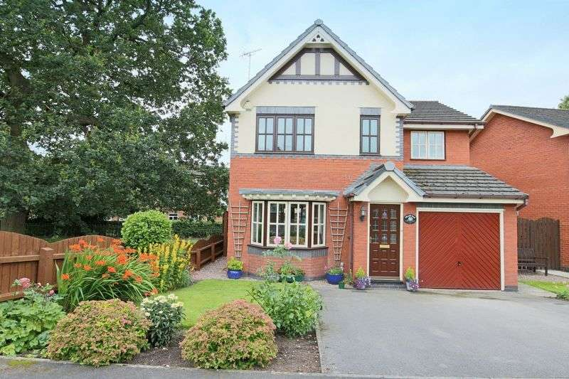 4 Bedrooms Detached House for sale in Mill Bridge Close, Crewe Green