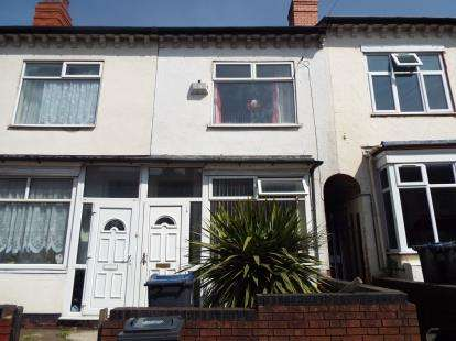 2 Bedrooms Terraced House for sale in Third Avenue, Bordesley Green, Birmingham, West Midlands