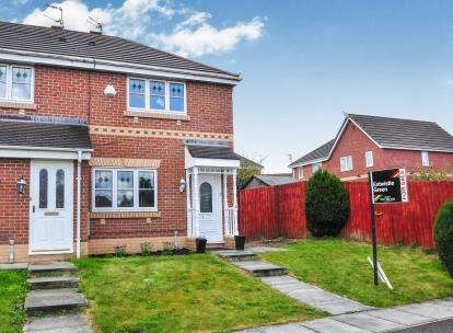 3 Bedrooms Semi Detached House for sale in Elwood Close, Kirkby, Liverpool, Merseyside, L33