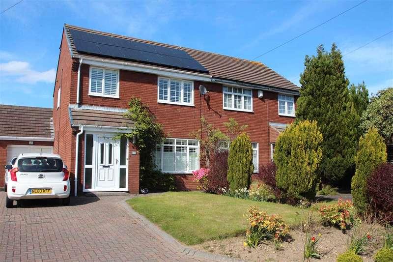 3 Bedrooms Semi Detached House for sale in Consett Road, Castleside, Consett