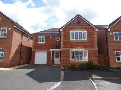4 Bedrooms Detached House for sale in Llys Onnen, Llandudno Junction, Conwy, LL31