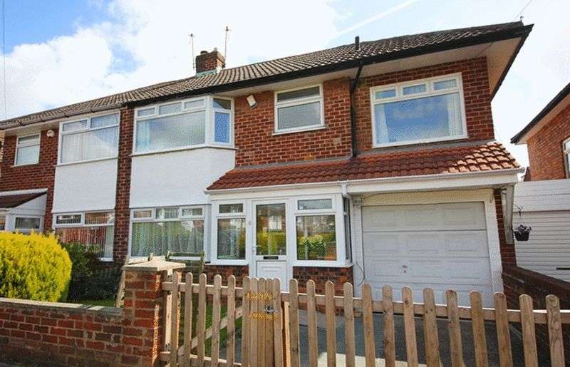 4 Bedrooms Semi Detached House for sale in Haileybury Road, Woolton, Liverpool, L25