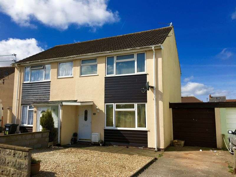 3 Bedrooms Semi Detached House for sale in Mendip Avenue, Weston-Super-Mare