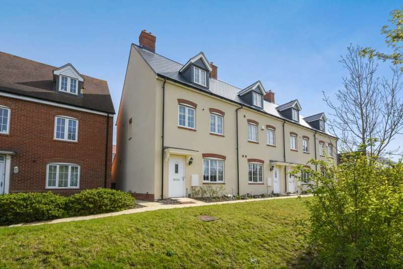 3 Bedrooms End Of Terrace House for sale in Kimmeridge Road, Oxford