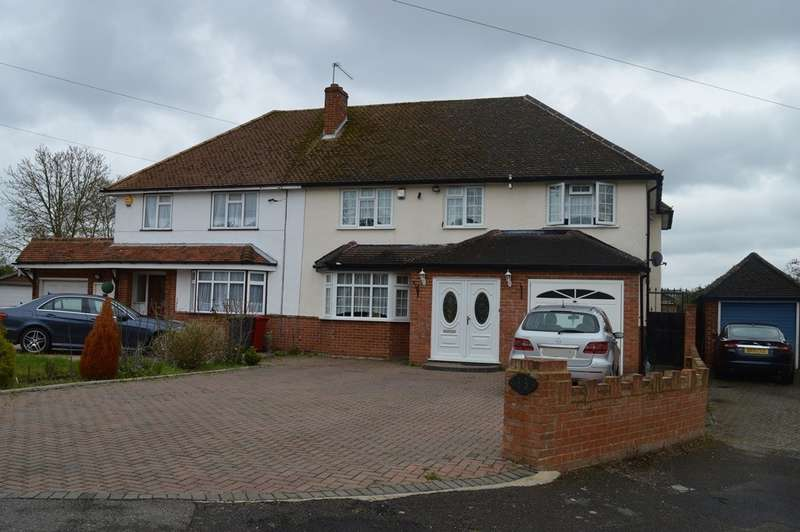 5 Bedrooms Semi Detached House for sale in Blenheim Road, Langley, SL3
