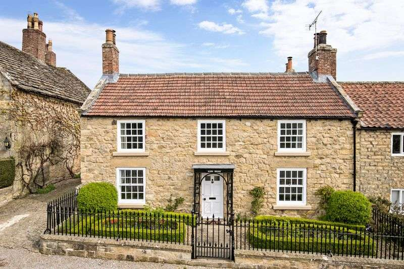 3 Bedrooms Detached House for sale in Alma House Coxwold York North Yorkshire YO61 4AD