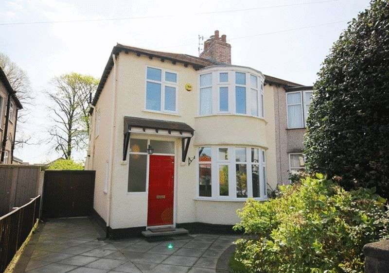 3 Bedrooms Semi Detached House for sale in Chalfont Road, Calderstones, Liverpool, L18