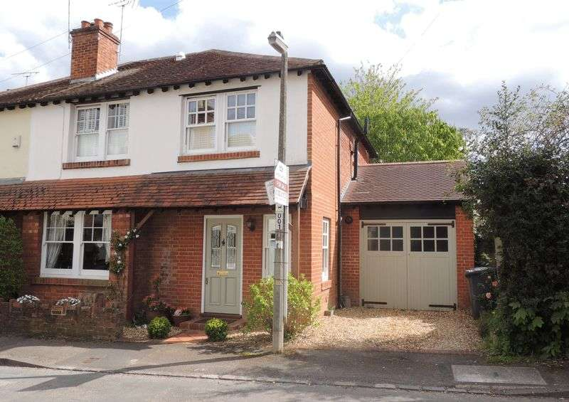 4 Bedrooms Semi Detached House for sale in Coworth Road, Sunningdale