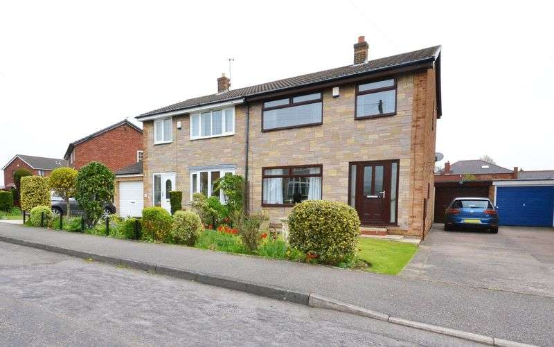 3 Bedrooms Semi Detached House for sale in West View, Barnsley