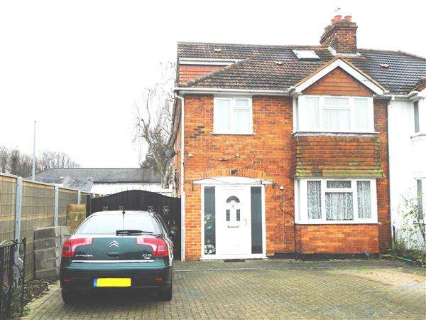 5 Bedrooms Semi Detached House for sale in Buckingham Avenue East, Slough