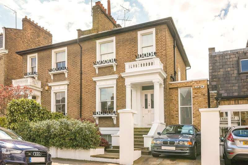 4 Bedrooms Semi Detached House for sale in Ravenscourt Road, London, W6