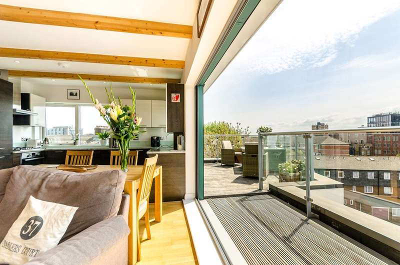 2 Bedrooms Penthouse Flat for sale in Wilds Rents, London Bridge, SE1