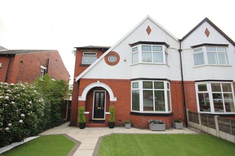 3 Bedrooms Semi Detached House for sale in BURY ROAD, Bamford, Rochdale OL11 4DN