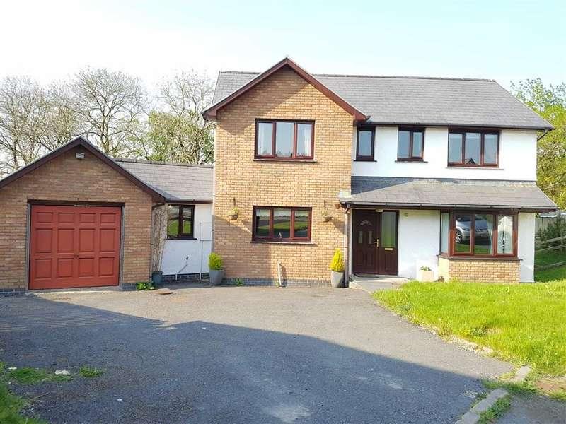 4 Bedrooms Property for sale in Clos-Y-Llan, Lledrod, Aberystwyth