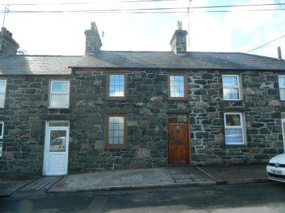 2 Bedrooms Terraced House for sale in New Row, Abererch, Pwllheli, Gwynedd, LL53