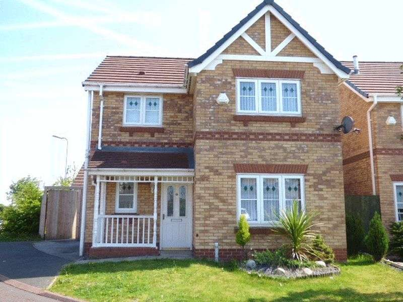 3 Bedrooms Detached House for sale in Caplin Close, Kirkby, Liverpool