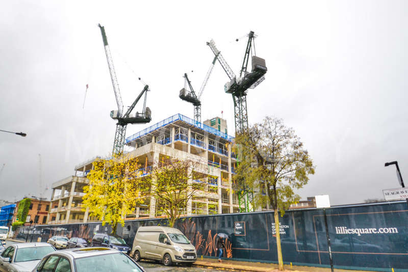 Flat for sale in Columbia Garden South, Lillie Square, Earls Court