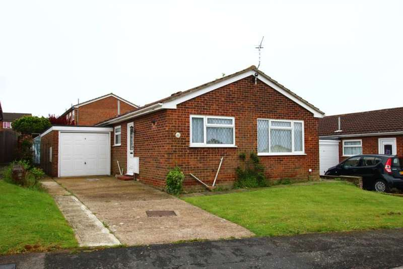 2 Bedrooms Detached Bungalow for sale in Orchid Close, Langney, BN23 8DE