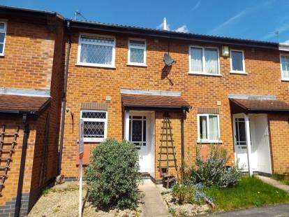 2 Bedrooms Terraced House for sale in Mablowe Field, Wigston Harcourt, Leicester, Leicestershire