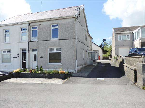 4 Bedrooms Semi Detached House for sale in Glenview, Maesybont Road, GORSLAS, Llanelli