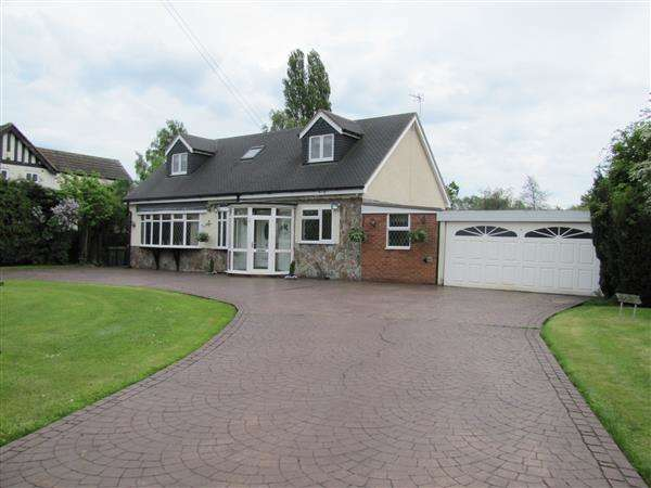 4 Bedrooms Bungalow for sale in The Willows, Marsh Lane, Water Orton