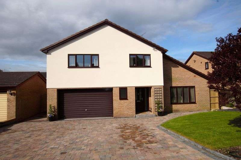 4 Bedrooms Detached House for sale in Chetwyn Court, Wrexham