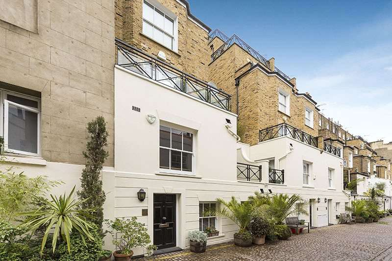 1 Bedroom Maisonette Flat for sale in Stanhope Mews South, London, SW7