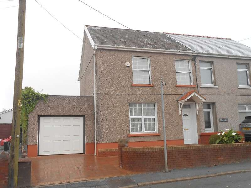 3 Bedrooms Semi Detached House for sale in 10 Llannon Road, Upper Tumble, Llanelli, Carmarthenshire. SA14 6BW