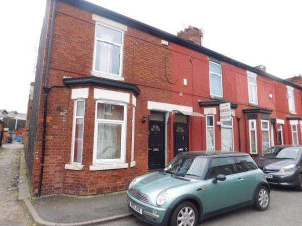 2 Bedrooms End Of Terrace House for sale in Hibbert Street, Manchester