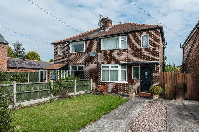 2 Bedrooms Semi Detached House for sale in Knutsford Road, Warrington