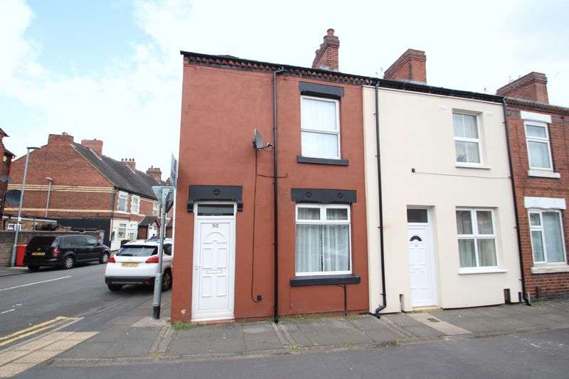 2 Bedrooms Terraced House for sale in Corporation Street, Stoke, Stoke-On-Trent