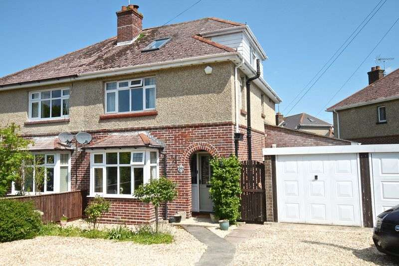 4 Bedrooms Semi Detached House for sale in Prince of Wales Road, Dorchester, DT1