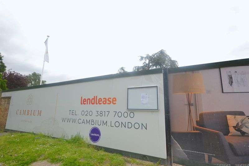 2 Bedrooms Flat for sale in Cambium, Princes Way, Southfields, SW19